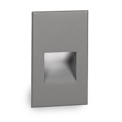 WAC Lighting Ledme Graphite LED Recessed Step Light