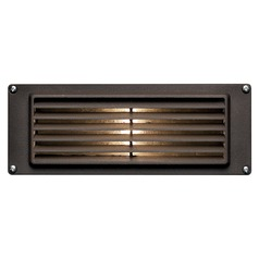 Modern Recessed Step Light in Bronze Finish