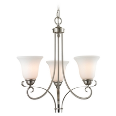 Thomas Lighting Brighton Brushed Nickel Chandelier