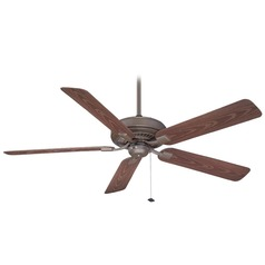Fanimation Fans Edgewood Oil-Rubbed Bronze Ceiling Fan Without Light