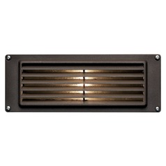 Modern LED Recessed Step Light in Bronze Finish