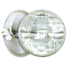 Incandescent PAR56 Light Bulb 2 Pin Base Wide Flood 37 Degree Beam Spread 120V by Satco