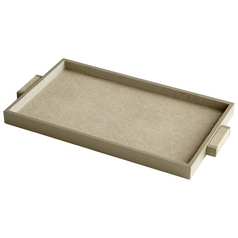Cyan Design Melrose Shagreen Tray