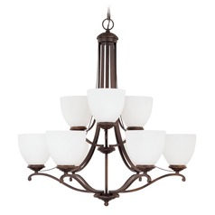 Capital Lighting Chapman Burnished Bronze Chandelier