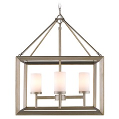 Golden Lighting Smyth White Gold Chandelier