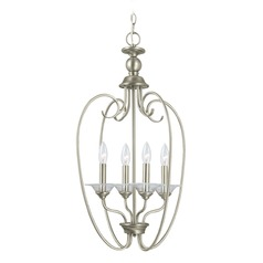 Sea Gull Lighting Lemont Antique Brushed Nickel LED Pendant Light