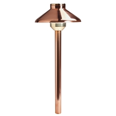 Kichler LED Path Light in Copper Finish