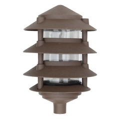Bronze Cast Aluminum Four Tier Pagoda Light