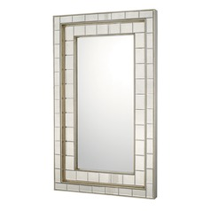 Capital Lighting Antique Silver Rectangle Mirror 50x30