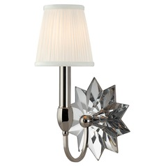 Barton 1 Light Sconce - Polished Nickel