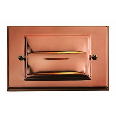 Modern Recessed Deck Light in Copper Finish