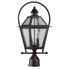 Quorum Lighting Bourbon Street Oiled Bronze Post Light