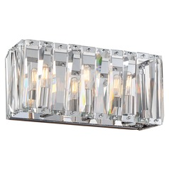 Metropolitan Lighting Coronette Chrome Bathroom Light