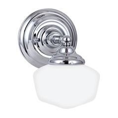 Sea Gull Lighting Academy Chrome LED Sconce