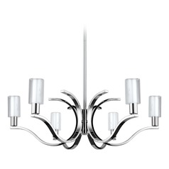 Eglo Varella Chrome LED Chandelier