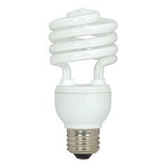 Compact Fluorescent T2 Light Bulb Medium Base 5000K 120V by Satco Lighting