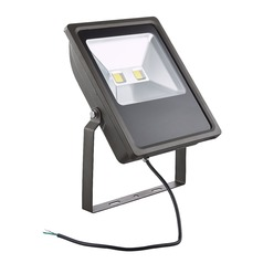 LED Flood Light Bronze 100-Watt 120v-277v 9640 Lumens 5000K 110 Degree Beam Spread