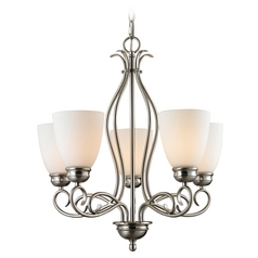 Cornerstone Lighting Chatham Brushed Nickel Chandelier