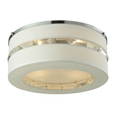 Elk Lighting Regis Polished Chrome Flushmount Light