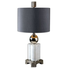 Uttermost Dantoni White Alabaster Table Lamp