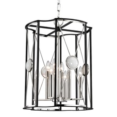 Hudson Valley Lighting Cresson Polished Nickel Pendant Light