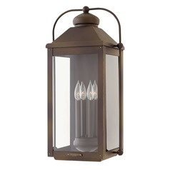 Hinkley Lighting Anchorage Light Oiled Bronze Outdoor Wall Light