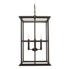 Capital Lighting West Port Old Bronze Pendant Light