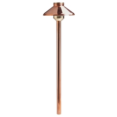 Kichler Lighting Kichler LED Path Light in Copper Finish 15821CO