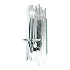 AF Lighting Chrome Sconce
