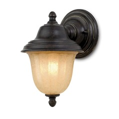 8-1/2-Inch Outdoor Wall Light with LED Bulb