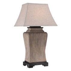 Quoizel Lighting Kennon Brown Table Lamp