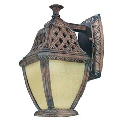 Troy Lighting Biscayne Brown Outdoor Wall Light