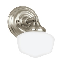 Sea Gull Lighting Academy Brushed Nickel LED Sconce