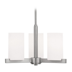 Livex Lighting Astoria Brushed Nickel Mini-Chandelier