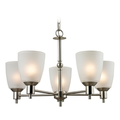 Thomas Lighting Jackson Brushed Nickel Chandelier