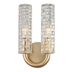 Hudson Valley Lighting Dartmouth Aged Brass Sconce