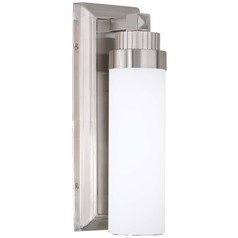 Minka Lavery Brushed Nickel LED Sconce