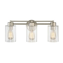 Satin Nickel Bathroom Light