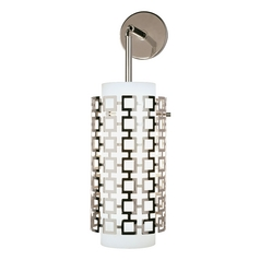 Robert Abbey Jonathan Adler Parker Sconce Polished Nickel
