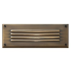 Modern Recessed Step Light in Matte Bronze Finish