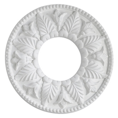 Quorum Lighting Studio White Medallion