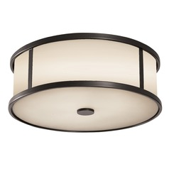 Feiss Lighting Dakota Espresso LED Close To Ceiling Light