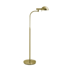 Sonneman Lighting Modern Floor Lamp in Satin Brass Finish 3040.38