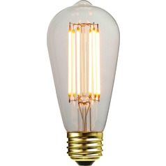 ST58 LED Light Bulb with Decorative Filament 15-Watts Equivalent