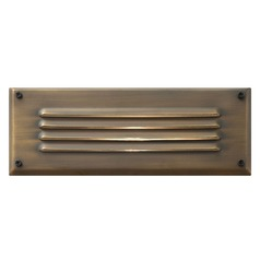 Modern LED Recessed Step Light in Matte Bronze Finish