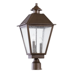 Quorum Lighting Emile Oiled Bronze Post Light