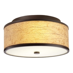 Hart Lighting Corona 17 Bronze Semi-Flushmount Light