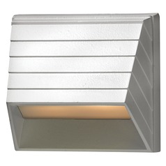 Modern Recessed Deck Light in Matte White Finish