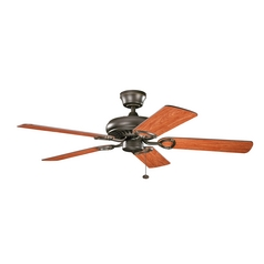 Kichler Lighting Sutter Place Olde Bronze Ceiling Fan Without Light