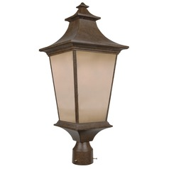 Craftmade Lighting Argent Aged Bronze Post Light